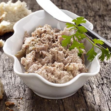 Rillette de Canard au foie gras 20%,190g