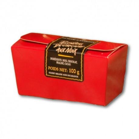 Noix au Chocolat de Rocamadour Ballotin de Chocolats Fins, 200g