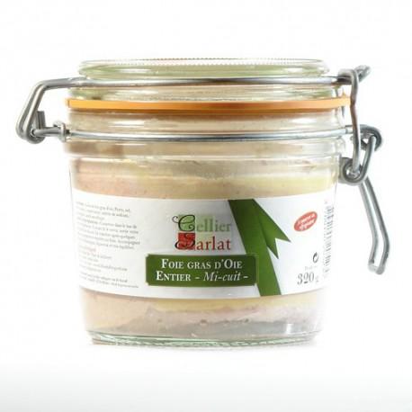 Foie Gras d'Oie Entier mi-cuit 320g