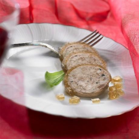 Cou de Canard Farci au foie gras sous vide