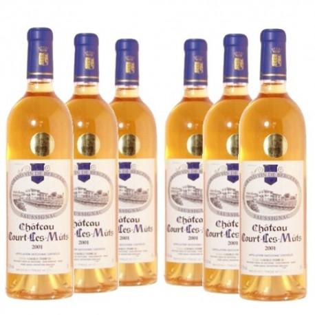 """Promotion 6 Bouteilles """"Château Court les Muts"""" Vendanges Tardives 2009 AOC Saussignac"""