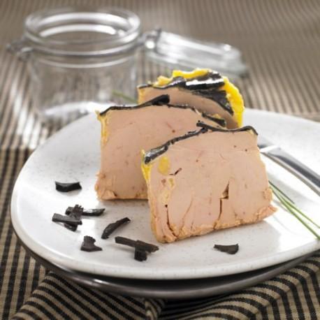 Foie Gras d'Oie Entier Truffé Origine Périgord, 320g