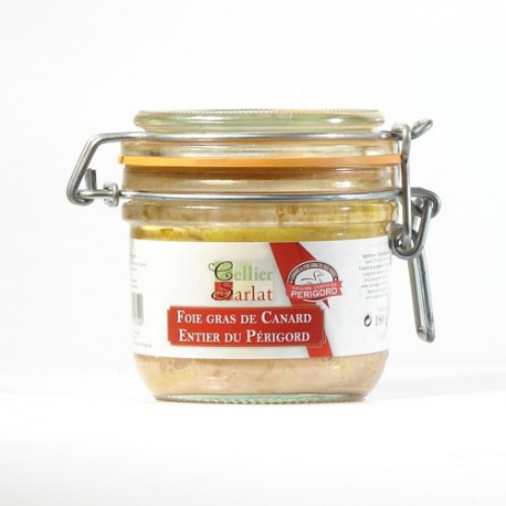 Foie gras de Canard Entier IGP Périgord 180g