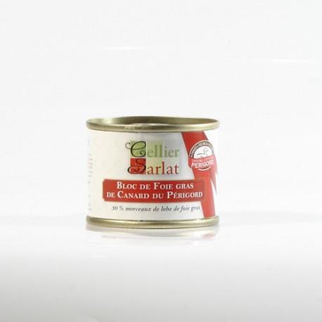 Bloc de Foie Gras de Canard IGP Perigord, 65g