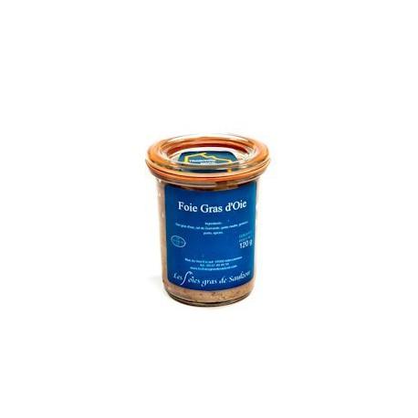 Foie Gras d'Oie 120 gr Saulzoir