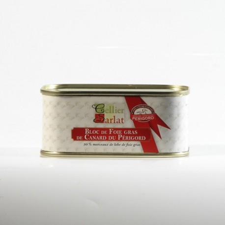 Bloc de Foie Gras de Canard IGP Périgord, 200g