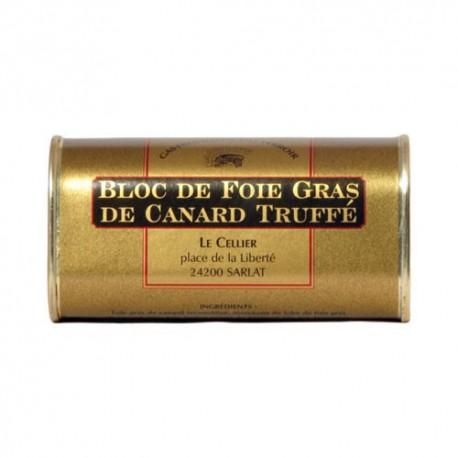 Bloc de Foie Gras de Canard Truffé 200g