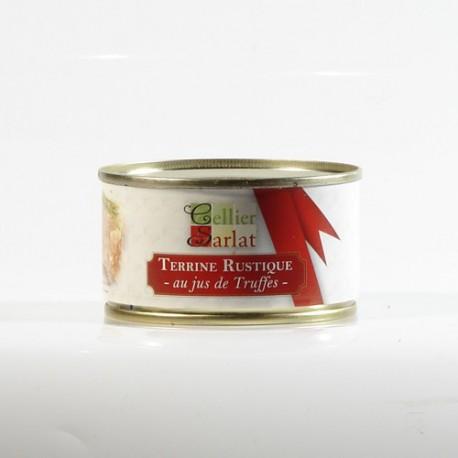 Terrine Rustique au jus de Truffe 130g