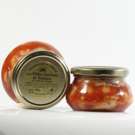 Petites Saucisses au Coulis de Tomate et au Piment d Espelette 240g