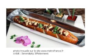hotdog au foie gras