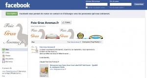 Foie Gras Facebook