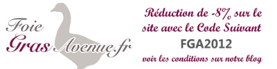 code de reduction Foie gras avenue