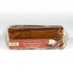 """Le pain d'épices à la fleur de sel """"spécial toasts"""" 120g Valette"""