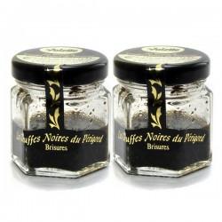 Lot de Brisures de Truffe Noire du Périgord 2 x 15g