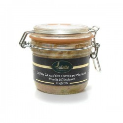 le foie gras d'oie entier du Périgord à la truffe noire du Périgord recette à l'ancienne Valette