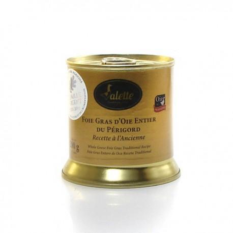 Le Foie Gras d'Oie Entier du Périgord - Recette à l'Ancienne 200g Valette