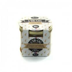 Les rillettes royales de confit de canard au foie de canard de bloc de foie gras 90g Valette