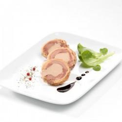 La gigolette de volaille au foie de canard de bloc de foie gras 130g Valette