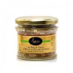Pâté de caille au Muscat de Beaumes de Venise 180G Valette