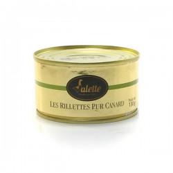 Les rillettes pur canard 130g Valette