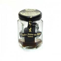 Morceaux de truffes noires du Périgord entières brossées 1e choix tuber melanosporum 20g Valette