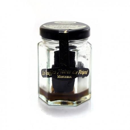 Morceaux de truffes noires du Périgord tuber melanosporum 20g Valette