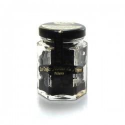 Pelures de truffes noires du Périgord tuber melanosporum 25g Valette