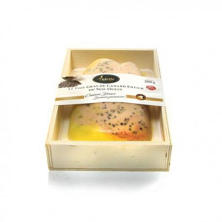 Le Foie Gras de Canard entier du Sud-Ouest cuisson douce - Nature 200g Valette