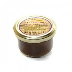 Le craquant de figues et chocolat noir 85g Valette