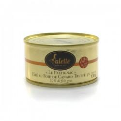 Le pastignac pâté au foie de canard truffé 130g Valette