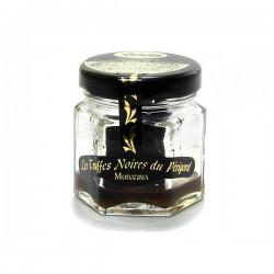 Morceaux de truffes noires du Périgord tuber melanosporum 12,5g Valette