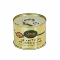 Le Bloc de Foie Gras de Canard du Sud-Ouest -65 g Valette