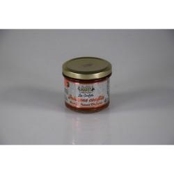 Poivrons confits au miel et au piment Chipotle 100g Valette