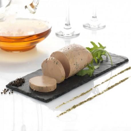 L'Absolu de Foie Gras d'Oie, Muscat de Beaumes de Venise et Poivre Sauvage de Voatsiperifery Cuisson Douce 200g Valette