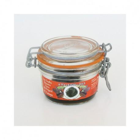 Truffes noires du Périgord entières extra 1e cuisson tuber melanosporum 100g Valette