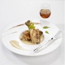 Marmiton de canard, sauce foie gras et ses éclats de morilles 350g Valette