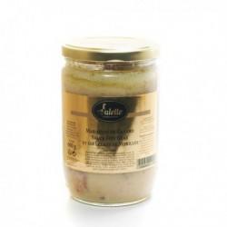 Marmiton de Canard, Sauce Foie Gras et Ses Éclats de Morilles 600g Valette