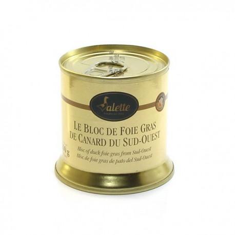 Le Bloc de Foie Gras de Canard du Sud-Ouest 200g Valette