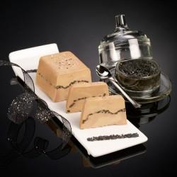 Grains de folie le foie gras de canard entier et son cœur de caviar 180g Valette
