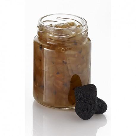La compotée d'oignons à la truffe d'hiver tuber brumale et tuber mélano 90g Valette