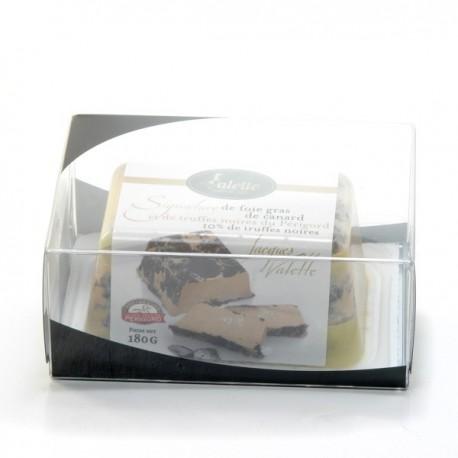 Signature de Foie Gras de Canard et Truffes Noires du Périgord (10% Truffe) 180g