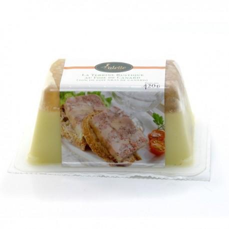 Terrine Rustique au Foie de Canard (20% Foie Gras) Dlc 5 Mois 420g