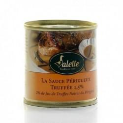 Sauce Périgueux Truffée 1,5%, 2 % Jus de Truffes 100g