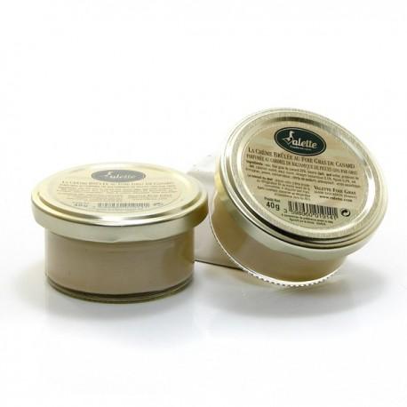 Lot de 2 x 3 Crèmes Brûlées au Foie Gras (20%) et Caramel Balsamique de Figues 240g