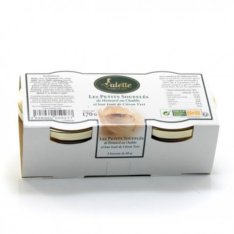 Les Soufflés de Homard au Chablis et Sa Pointe de Citron Vert 170g