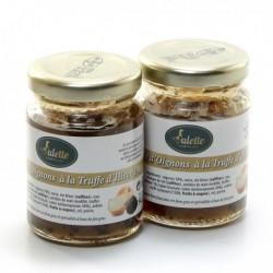 Compotée D'Oignons à La Truffe D'Hiver 1% (Brumale et Melanosporum 30%) - 2x90g
