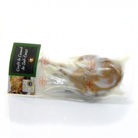 Confit de Cuisses de Canard du Sud-Ouest Pochées Sous Vide 240g