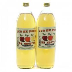 Jus de Pomme de Montcuq - Les 2 Bouteilles de 1L