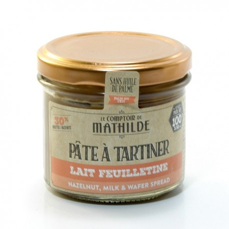 Pâte à Tartiner Chocolat Lait et Noisettes 100g