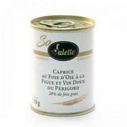 Caprice au Foie D'Oie Figue et Vin Blanc Doux du Périgord (20% de Foie Gras) 65g